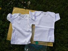 NUOVO Oxylos 2 pezzi maglia intima bimbi cotone 6mesi