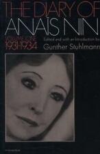 The Diary of Anais Nin Vol. 1 : 1931-1934 Vol. 1 by Anaïs Nin (1969, Paperback)