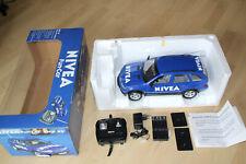 BMW X5 Fun-Car 1:12 ferngesteuertes Modellauto Blau NIVEA Ausführung LIMITIERT