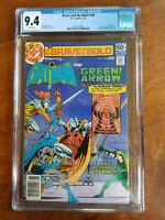 BRAVE AND THE BOLD # 144 DC COMICS  CGC GRADED 9.4 BATMAN GREEN ARROW