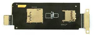 OEM ASUS ZENFONE ZOOM ZX551ML Z00XS REPLACEMENT MICRO SD SIM CARD READER FLEX