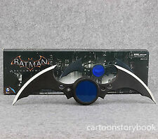 DC Comics Batman Arkham Knight Batarang Letter Opener Light Rotate Dart Toy LED