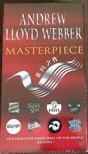 Andrew Lloyd Webber Masterpiece 2-VHS Set  2001 - Brand New Sealed