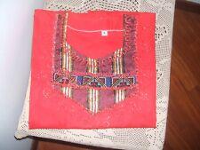vestito lungo egiziano rosso