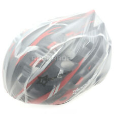 Rockbros Windproof Dust-proof Rain Cover MTB Road Bike Helmet Cover White New