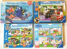 Ravensburger Jigsaw Puzzle Bundle Peppa Pig Paw Patrol Nemo Gift Toy 3 Years