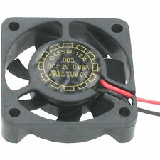 4 LÜFTER 40x40x10mm 12VDC 80mA 0,96W YATE LOON D40SM-12A