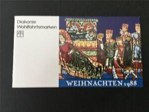 GERMANY BOOKLET 1988 CHRISTMAS X-MAS NOEL NAVIDAD WEIHNACHTEN RARE!! h4974