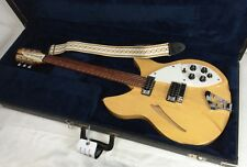 1993 Rickenbacker USA Maple Glo 330-6 Six String MG Hollow Body Electric Guitar