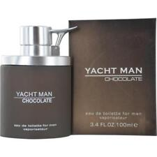 Yacht Man Chocolate Cologne for Men 3.4 oz EDT Spray New in Sealed Box