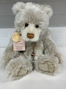 Charlie Bears Porridge Limited Edition 2282 Of 4000