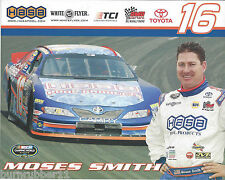 "2009 MOSES SMITH #16 ""HASA POOL PRODUCTS"" NASCAR CAMPING WORLD SERIES POSTCARD"