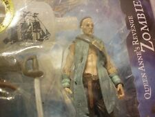 "Pirates of the Caribbean on Stranger Tides Queen Annel's Revenge Zombie 4"" scale"