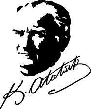 Mustafa Kemal Atatürk Imza Unterschrift Türkiye Auto Aufkleber Sticker - Motiv