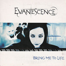 CD CARTONNE CARD SLEEVE 2T EVANESCENCE (AMY LEE) BRING ME TO LIFE 2003