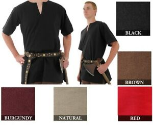 Medieval Shirt Tunic LARP SCA Viking  Cosplay Costume Renaissance by GDFB-SAY