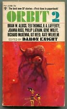 Damon Knight ORBIT 2 First Printing Berkley S1448 Aldiss Lafferty Wolfe Wilhelm