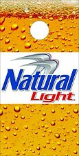 Corn Hole Graphic - Natural Light Beer Glass