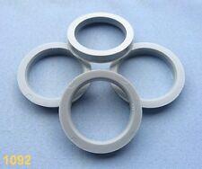 (1092) 4 Stück  Zentrierringe 68,1 / 54,1 mm grau für Alufelgen