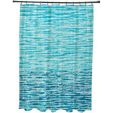 "Simply Daisy 71"" x 74"" Ocean View Geometric Print Shower Curtain"
