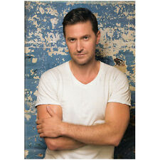 Richard Armitage Close Up with Arms Crossed Against Wall 8 x 10 Inch Photo