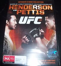 UFC Ultimate Fighting 164 Bensin Hendserson Vs Anthony Pettis (Au R 4) DVD New
