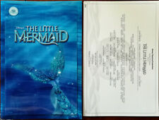 The Little Mermaid Disney Theatre Brochure with 3D Cover 2007 + Insert