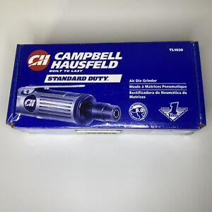 "Campbell Hausfeld 1/4"" Air Die Grinder TL1020 New 25,000 RPM 6.0 AVG SCFM 90 PSI"