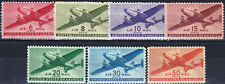 U.S. - UNITED STATES - C25 - 31 - COMPLETE MINT AIRMAIL SET - LOOK!