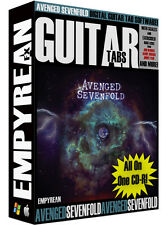 Avenged Sevenfold Guitar Tabs CD-R Digital Lessons Software The Stage Win Mac