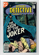 "DETECTIVE COMICS #476 - Grade 9.2 - ""Sign of the Joker""! Marshall Rogers cover!"