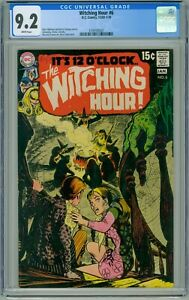 WITCHING HOUR #6 CGC NM- 9.2 WHITE PAGES NICK CARDY COVER COMIC 1970