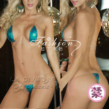 Women's Sexy Micro Bikini Swimwear Transparent Tape Brazilian G-String Thong 096