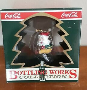 Coca-Cola 1992 Bottling Works Collection Thirsting For Adventure Elf Ornament