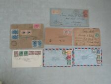 Nystamps Thailand old stamp cover post history collection