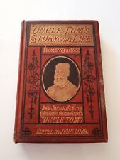 Uncle Tom's Story of His Life: Reverend Josiah Henson, Antique Book