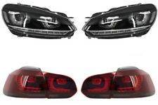 Headlights for VW Golf 6 VI 08-13 Golf 7 3D LED DRL Taillights LED R20 Look