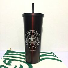 Starbucks Stainless Tumbler Venti 24 Oz. Pike Place Cold Cup Wine Red Glossy