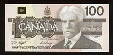 1988 Bank of Canada $100 3-Digit Radar Banknote BJW5399935