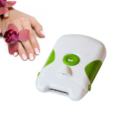 New Useful Green Nail Finger Clipper Electric Nail Trimmer With Free Shipping