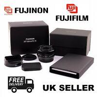 FUJI NON Fujifilm Fujinon - XF 18mm f/2.0 ED Wide Angle Lens