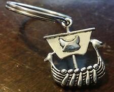 Viking Ship Boat Keychain Key Chain ring Norse Odin Vikings Valhalla