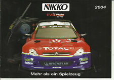 Catalogo Nikko EVOLUTION sintonizzatore 2004 modelli RC CARS 1:6 1:10 1:12 1:14 1:16 1:24