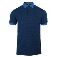 Hugo Boss Men's Bright Blue PSelf Polo Shirt Size UK S RRP £90