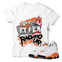 Shirt for Air Jordan 13 Retro ''Starfish'' Unisex T-shirt |RACKED UP-White Shirt