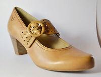 Caprice Damenschuh Pumps beige Leder Gr. 39 (PE 1754+1755/S)