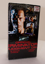 Terminator 2 Judgement Day Official Movie Trading Cards T2 Factory Sealed Box