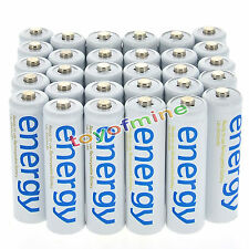 30x AAA 3A 2000mAh 1.2V Ni-Mh Energy Rechargeable Battery White Cell for RC MP3