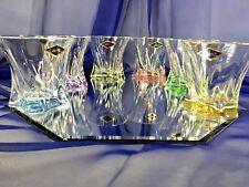 Crystal Set of 6 Rocks Glass Whiskey Cognac Vodka  Tumbler 10oz / 320 ml Bohemia