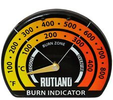 RUTLAND 701 STOVEPIPE THERMOMETER Woodstove Pellet Stove NEW FREE USA SHIPPING!